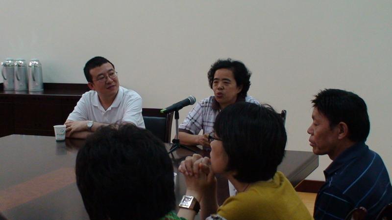中国职业技术教育学会于芳副秘书长视察集团成员单位